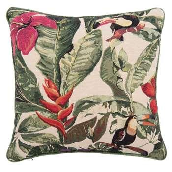 GUARANA Tropical Print Cushion Cover (H40 x W40cm)