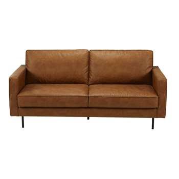 HABEL Camel 2/3-seater fabric sofa (86 x 173cm)