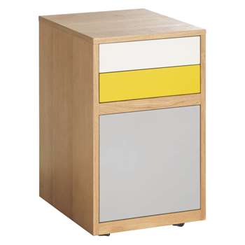 Habitat Albion 3 Drawer Office Storage (60 x 38.6cm)