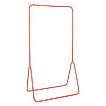 Habitat Arnie Red Metal Freestanding Clothes Rail (H147 x W80 x D44cm)