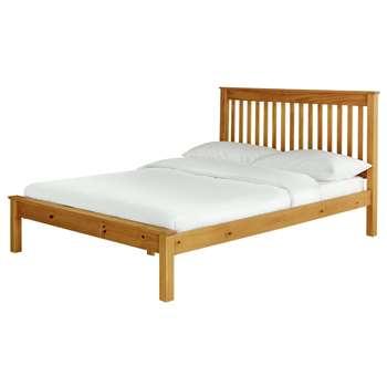 Habitat Aspley Small Double Bed Frame - Oak Stain (H102 x W132 x D203cm)
