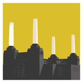 Habitat Battersea Print By Jayson Lilley (50 x 50cm)