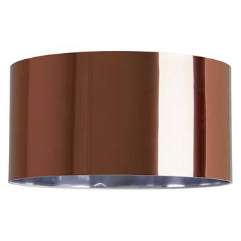 Habitat Cilla Copper Medium Translucent Lampshade (18 x 35cm)