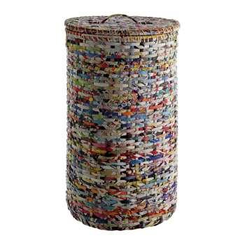 Habitat Cohen Recycled Magazine Laundry Basket 67 x 44cm