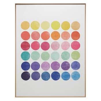 Habitat Colourplay 6. Print With Frame Colourplay 6 (60 x 80cm)