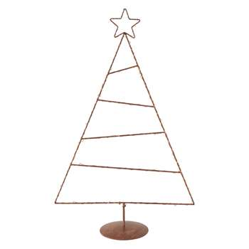 Habitat Coppia Copper LED Tree on Stand (Height 50cm)