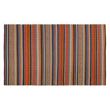 Habitat Edith Cotton Rug - Multicoloured (H120 x W180cm)