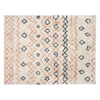 Habitat Eleise Wool Rug - Multicoloured (H140 x W200cm)