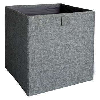Habitat Esperanto Grey Fabric Collapsible Storage Box