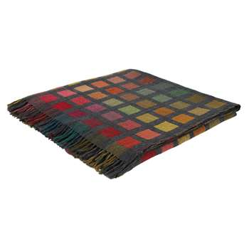 Habitat Esther Wool & Silk Throw - Multicoloured (H130 x W170cm)