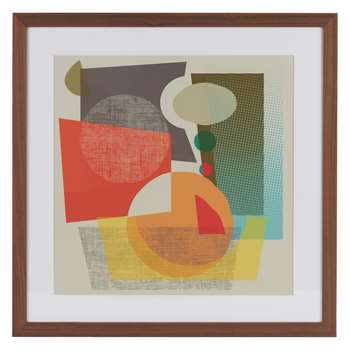 Habitat Exclude Framed Print By Lisa James (60 x 60cm)