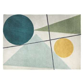 Habitat Forma Large Multi-Coloured Wool Rug (170 x 240cm)