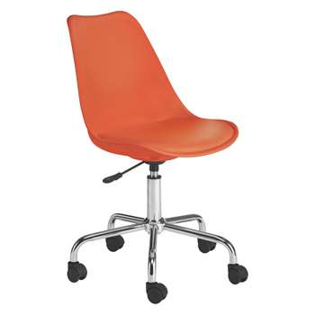Habitat Ginnie Orange Office Chair (86 x 53.5cm)