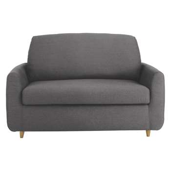 Habitat Honovi Charcoal Fabric Compact Sofa Bed (77 x 145cm)