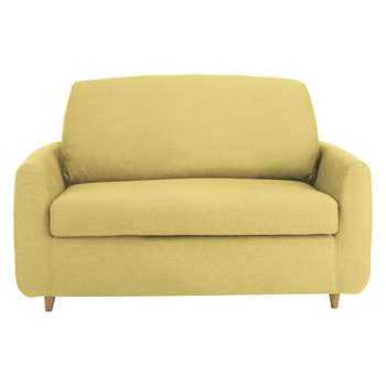 Habitat Honovi Saffron Yellow Fabric Compact Sofa Bed - 77 x 145cm
