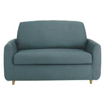Habitat Honovi Teal Blue Compact Sofa Bed 77 x 145cm