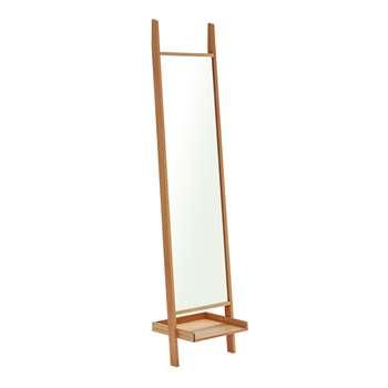 Habitat Jessie Freestanding Mirror - Oak (H188 x W45cm)