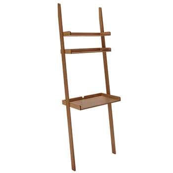 Habitat Jessie Walnut Ladder Desk (H188 x W66cm)