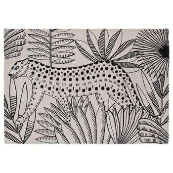 Habitat Jungle Wool Rug (H160 x W230cm)