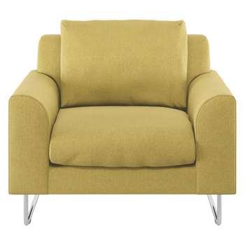 Habitat Lyle Saffron Fabric Armchair (79 x 87cm)