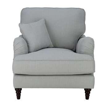 Habitat Matilda Fabric Armchair - Grey (H93 x W89 x D96cm)