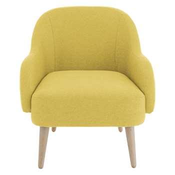Habitat Momo Saffron Yellow Fabric Armchair (80 x 72cm)