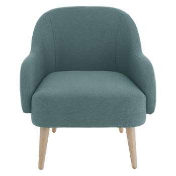 Habitat Momo Teal Blue Fabric Armchair (80 x 72cm)