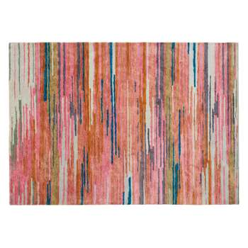 Habitat Montana Large Multi-Coloured Wool And Viscose Rug (170 x 240cm)