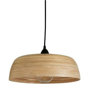 Habitat Moxley Natural Bamboo Easy-To-Fit Ceiling Shade (H11 x W37 x D37cm)