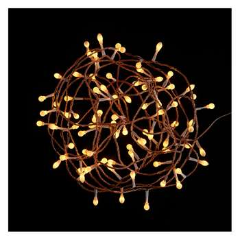Habitat Natale 80 LED Gold Christmas Lights (Length 400cm)