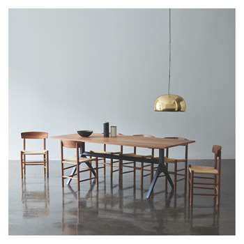 Habitat Oregan Dining Set With Oregan Walnut Table And 6 Chairs