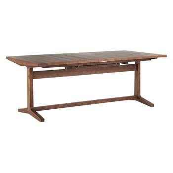 Habitat Parker Extending 8-12 Seater Dining Table - Walnut (H75 x W200-275 x D100cm)