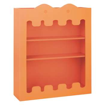 Habitat Ralph Orange Kids Bookcase (95 x 110cm)
