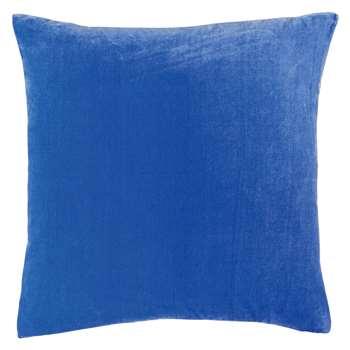 Habitat Regency Cobalt Blue Velvet Cushion (45 x 45cm)