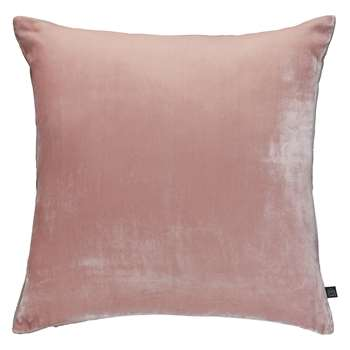 Habitat Regency Pink Velvet Cushion 60 x 60cm