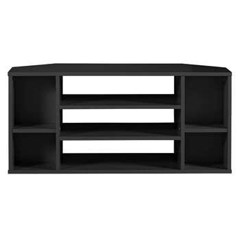 Habitat Suki Corner TV Unit - Black (H43 x W92 x D37cm)
