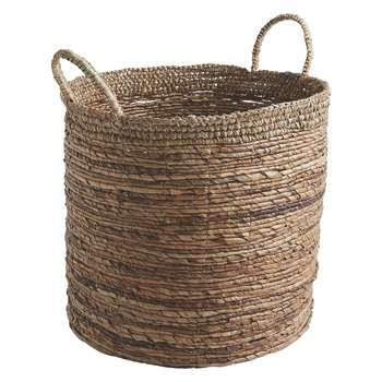 Habitat Teny Banana Leaf And Sisal Woven Storage Basket (38 x 40cm)