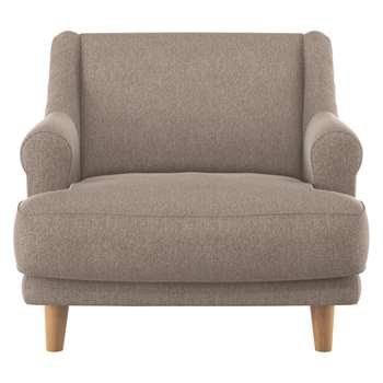 Habitat Townsend Natural Fabric Armchair (72 x 90cm)