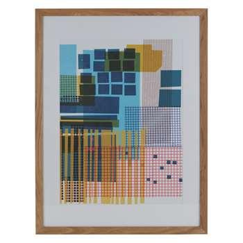 Habitat Tremor Framed Print By Mw (86 x 66cm)
