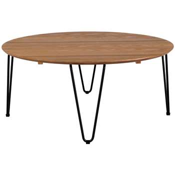 Habitat Tyler Round coffee Table (H35 x W80 x D80cm)