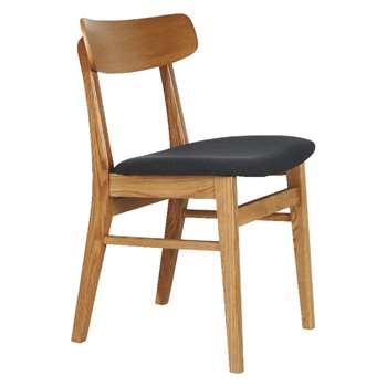 Habitat Vince Oak Dining Chair (79 x 46cm)