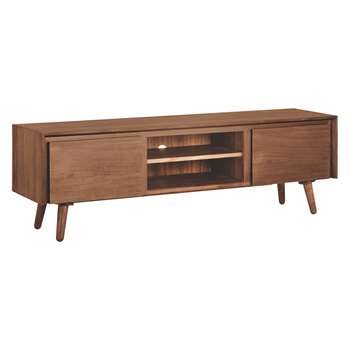 Habitat Vince Walnut Large AV Unit 87 x 58cm