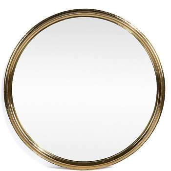 Hai Design Mirror Brass (90 x 90cm)