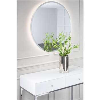 Halo Illuminated Mirror (H80 x W80 x D4cm)