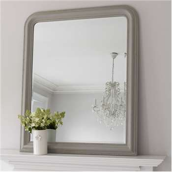 Hampshire Mirror - Grey Large (H120 x W100cm)