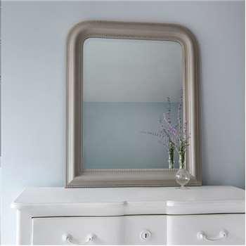 Hampshire Mirror - Grey Small (H87 x W72cm)