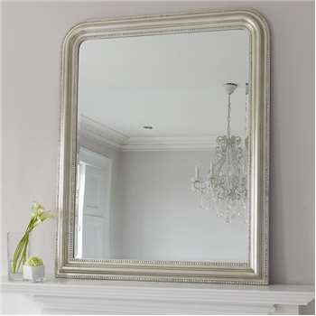 Hampshire Mirror - Silver Large (H120 x W100cm)