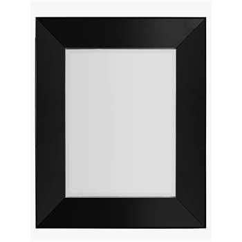Hampton Rectangular Mirror, Black (H121 x W91 x D5cm)