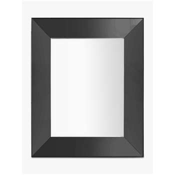 Hampton Rectangular Mirror, Grey (H121 x W91 x D5cm)