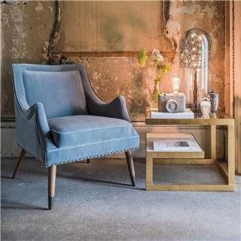 Hanson Velvet Chair (H80 x W65 x D64cm)